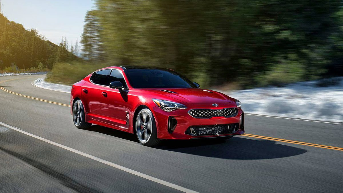 kia stinger la berline sportive sign kia car adviser. Black Bedroom Furniture Sets. Home Design Ideas