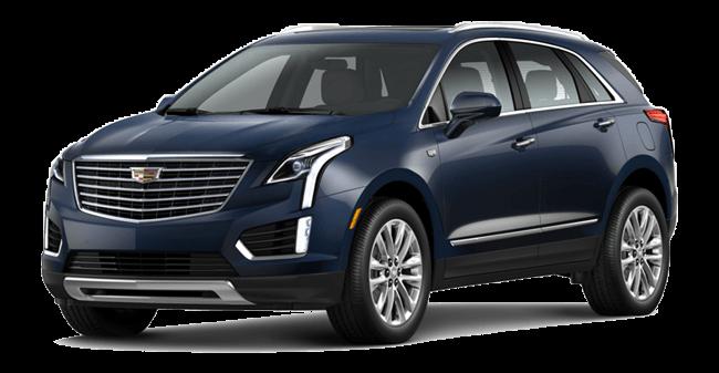 Cadillac XT5 Bleu